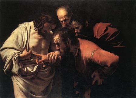 Caravaggio_Incredulità_San_Tommaso