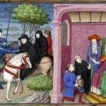 Radicofani. Ghino di Tacco e l'abate di Cluny in un convegno