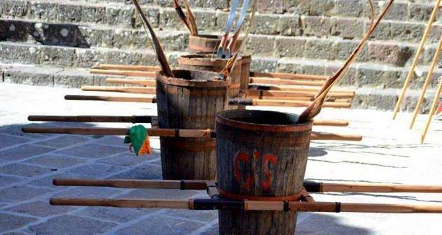 Radicofani. Palio del Bigonzo: oggi la Festa con la sfida tra i cinque antichi borghi del territorio