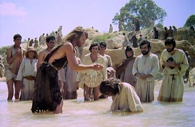 Risultati immagini per battesimo di gesù zeffirelli