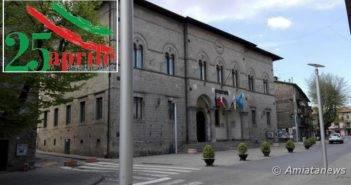 Abbadia San Salvatore. Si celebra il 25 Aprile