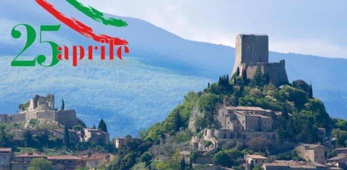 Castiglione d'Orcia. Celebrazioni a ricordo della Resistenza e della Liberazione.