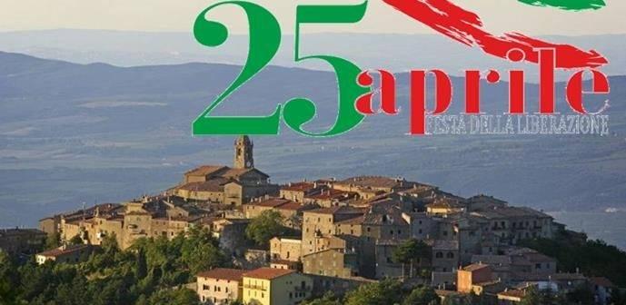 Cinigiano. 25 Aprile:  il programma della Festa della Liberazione