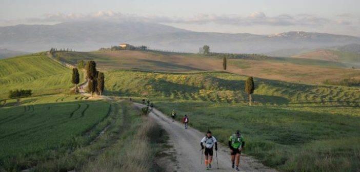Val d'Orcia. Tuscany Crossing: 550 partecipanti nello scenario Unesco