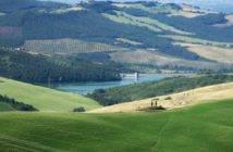 San Casciano dei Bagni - Diga dell'Elvella (Foto Renato Pantini)
