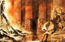 Wanderlord_cartoon_Erostrato_incendia_il_tempio