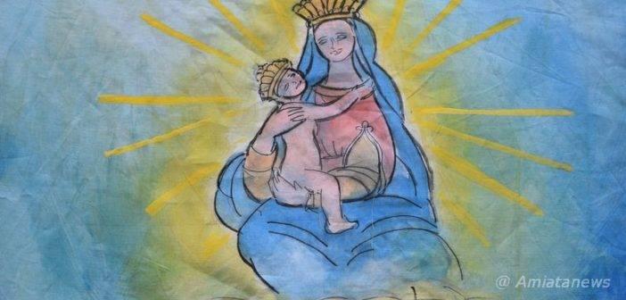 Piancastagnaio. Che sia un Palio unico, con la purezza e la bellezza della Vergine col Bambino