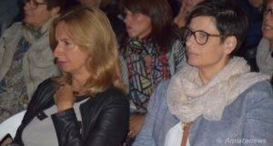 Da sx: Le Assessore Roberta Sancasciani ed Elisabetta Bensi
