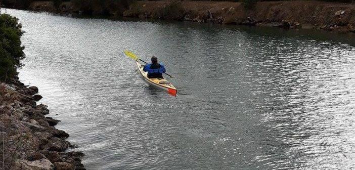 Sport. In kayak da Talamone a Catania: Guido del Gizzo è già a Tarquinia