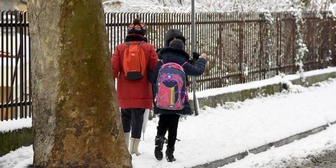 Siena e provincia. Neve: prime indicazioni ufficiali sulla chiusura delle scuole