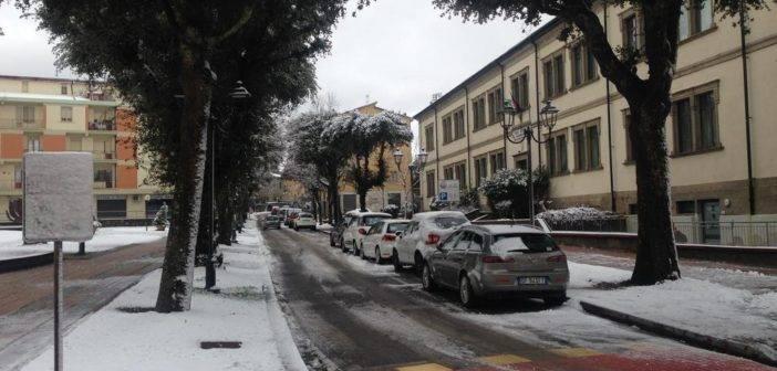 Amiata Val d'Orcia. Neve: chiuse domani le scuole di Piancastagnaio e Radicofani