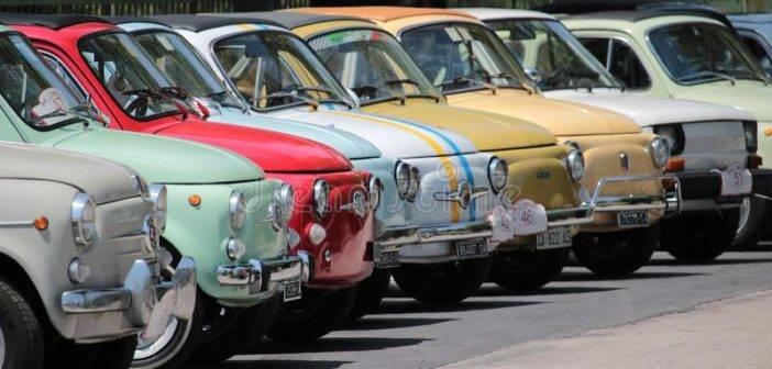 """Pitigliano. Con Fiat 500 Club Italia, al via il I° raduno """"Città del Tufo"""""""