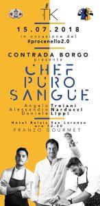 Piancastagnaio_Procenello_2018_Chef_Puro_Sangue_locandina
