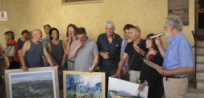 Sarteano. La terza edizione del concorso nazionale di 'Pittura estemporanea'