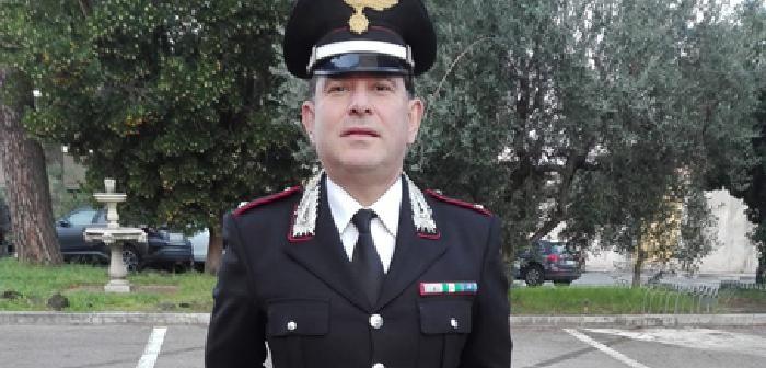 Montepulciano. Promozione a Ufficiale del Luogotenente Ottavio Rosatelli, Comandante della Stazione Carabinieri di Acquaviva.