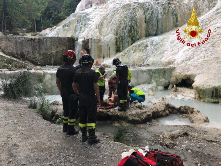 Bagni S. Filippo. Donna cade al Fosso Bianco - Amiatanews - Notizie ...